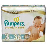 Pampers Premium Care Value Pack Medium Size 3 Midi/4-9 KG/36 Diapers online price in Pakistan