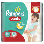 Pampers Pants Jumbo Pack Size 5 Junior/12-18 KG/22 Pants buy online in Pakistan