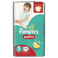 Pampers Pants Mega Pack Size 5 Junior/12-18 KG/48 Pants original product