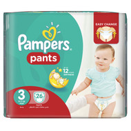Pampers Pants Jumbo Pack Size 3 Midi/6-11 KG/26 Pants best price