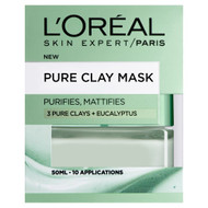 Pure Clay Eucalyptus Mask Purifying & Mattifying Green 50 ML best Price