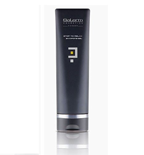 Salerm Homme Stop To Relax Shampoo-Gel Original Product