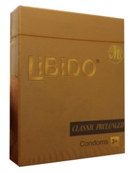 Libido Classic Prolonged Condoms 3 Pieces buy online in pakistan