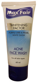 Max Fair Whitening Factor Acne Face Wash 60ml buy online in pakistan