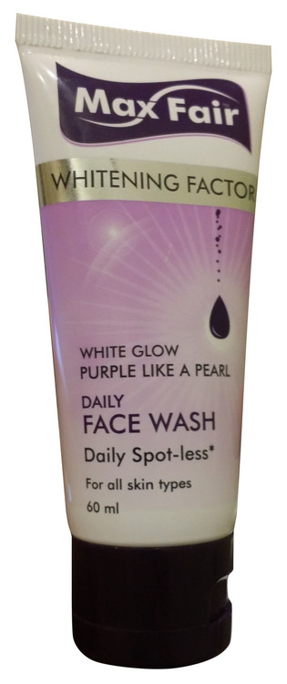 Max Fair Whitening Factor Daily Face Wash 60ml buy online in pakistan