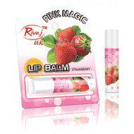 Rivaj UK Pink Magic Lip Balm Strawberry Best Price