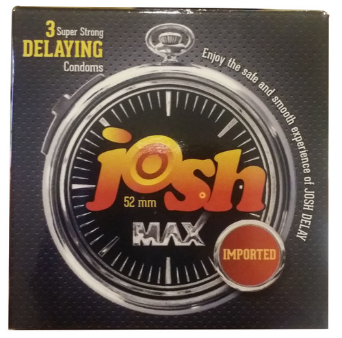 Josh Max Super Strong Delaying Condoms 3 Pieces buy online in pakistan