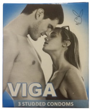 Viga Studded Condoms 3 Pieces  buy online in pakistan