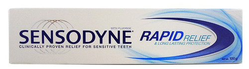 Sensodyne Rapid Relief & Long Lasting Protection 100 Grams best price