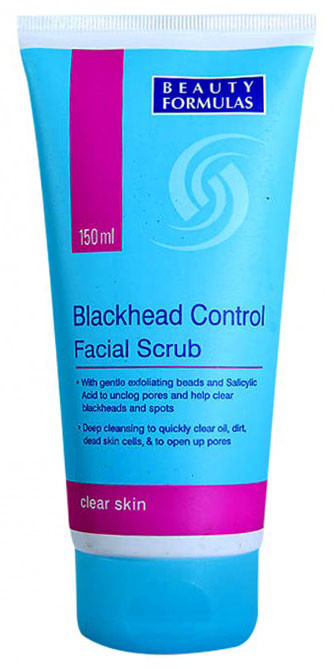 Beauty Formulas Blackhead Control Facial Scrub 150 ML best price