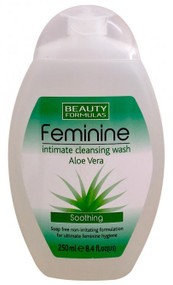 Beauty Formulas Feminine Intimate Cleansing Aloe Vera Wash 250 ML best price