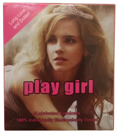 Play Girl Dotted Lubricated Condoms 3 Piece buy online in pakistan