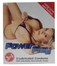 Power Play Dotted Lubricated Condoms 3 Pieces Buy online in Pakistan on Saloni.pk