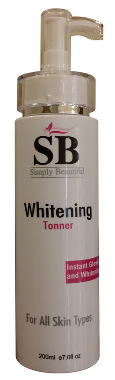 SB Facial Whitening Toner Instant Glowing and Whitening 200ML buy online in pakistan best price original products