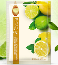 Bioaqua Lemon Nourishing Facial Mask buy online in pakistan