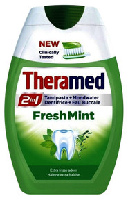 Theramed Toothpaste 2 In 1 Fresh Mint 75ML buy online in pakistan best price original products