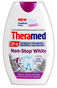 Theramed 2 In 1 Non-Stop White Toothpaste 75ML buy online in pakistan best price original products