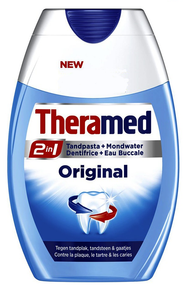 Theramed 2 In 1 Toothpaste + Mouthwash Original Buy in Pakistan best price