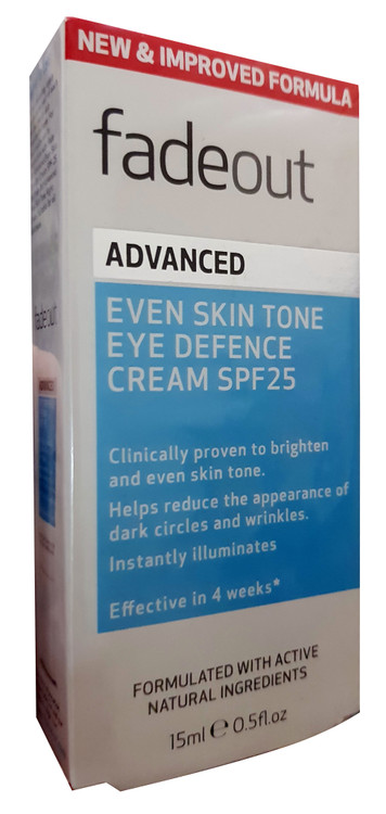 Fade Out Even Skin Tone Eye Defence Cream SPF25 (15ML) buy online in pakistan