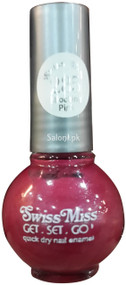 Swiss Miss Quick Dry Nail Enamel Shocking Pink 285 Front