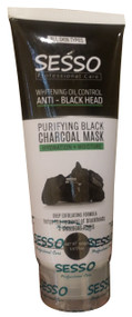 Sesso Purifying Black Charcoal Mask 150 Grams Buy online in Pakistan best price original products
