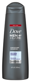 Dove Men+Care Oxygen Charge Fortifying Shampoo 355ML buy online in pakistan best price original products
