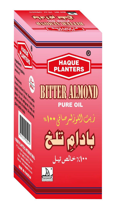 Haque Planters Bitter Almond Pure Oil lowest price in pakistan on saloni.pk