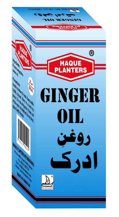 Haque Planters Ginger Oil 30 ML lowest price in pakistan on saloni.pk