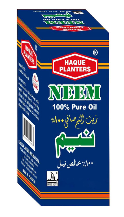 Haque Planters Neem Oil 30ML lowest price in pakistan on saloni.pk
