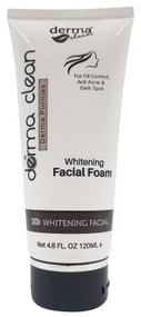 Buy Derma Clean 3D Whitening Facial Foam 120 ML with best prices in Pakistan from Saloni.pk