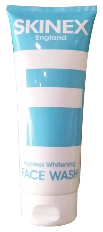 Skinex England Ageless Whitening Face Wash 150 ML (Front) Buy online in Pakistan
