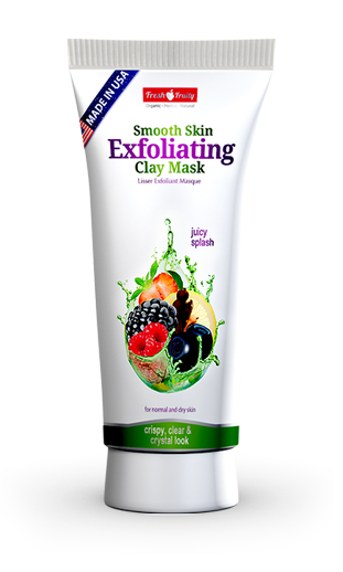 Fresh & Fruity Smooth Skin Exfoliating Clay Mask 150 ML  Buy online in Pakistan  best price  original products