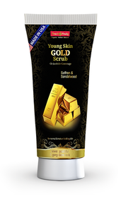 Fresh & Fruity Young Skin Gold Scrub 150 ML Buy Online In Pakistan