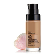 The Body Shop Fresh Nude Foundation Sicily Amber 050  Buy online in Pakistan  best price  original product