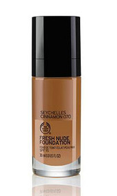 The Body Shop Fresh Nude Foundation Seychelles Cinnamon 070 Buy online in Pakistan  best price  original product