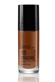The Body Shop Fresh Nude Foundation Tuscany Chestnut 080  Buy online in Pakistan  best price  original product