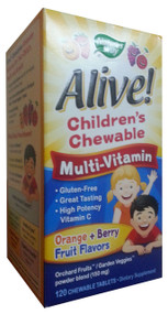 Nature's Way® Alive!® Children's Chewable Multi-Vitamin 120 Tablets  Buy online in Pakistan best price  original product