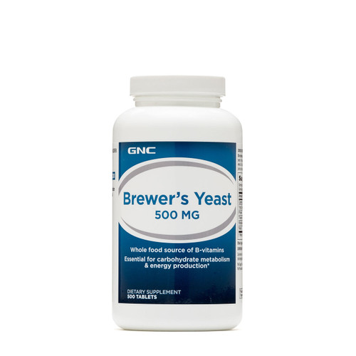 GNC Brewer's Yeast 500 MG 500 Tablets  Buy online in Pakistan