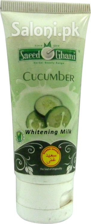 Saeed Ghani Cucumber Whitening Milk (Front)