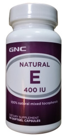 GNC Natural E 400 IU with Selenium (90 Capsules) Buy online in Pakistan best price original products