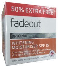 Fade Out Original Brightening Moisturiser SPF15 Cream 75 ML