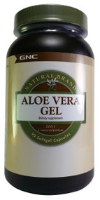 GNC Natural Brand™ Aloe Vera Gel 90 Softgel Capsules  Buy online in Pakistan  best price  original product