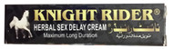 Knight Rider Herbal Delay Cream