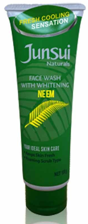 Junsui Naturals Facial Wash With Whitening Neem 100 Grams buy online in Pakistan best price original product