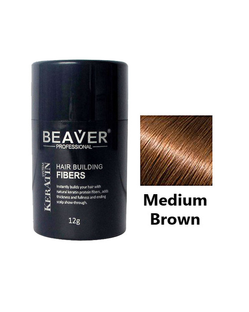 Beaver Professional Hair Building Fiber Medium Brown Buy online in Pakistan best price original product