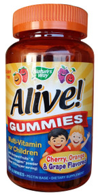 GNC Natural's Way Alive Gummies Multi-vitamin for Children 90 Gummies shop online in Pakistan
