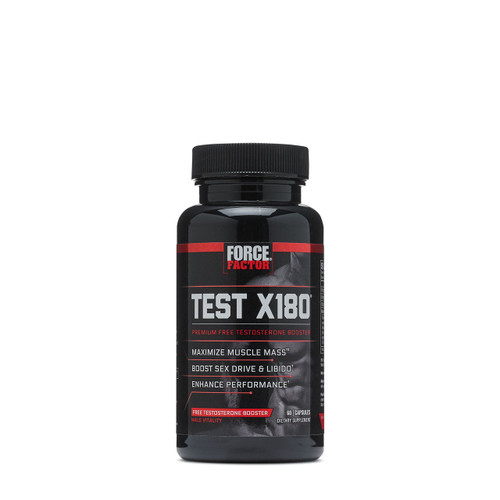 GNC Force Factor Test X180 Premium Free Testosterone Booster 60 Capsules shop online in Pakistan best price