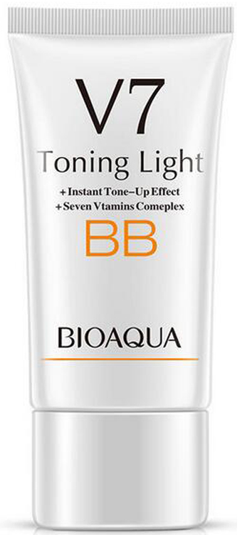 Bioaqua V7 Toning Light Long Lasting BB Cream (Ivory White) 01 buy online in pakistan