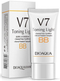 Bioaqua V7 Toning Light Long Lasting BB Cream (Ivory White) 01 bb cream makeup foundation concealer