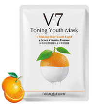 Bioaqua Toning Youth Mask V7 (Orange) shop online in Pakistan best price original product
